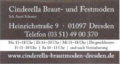 Sponsor des TKV Cinderella Braut- und Festmoden