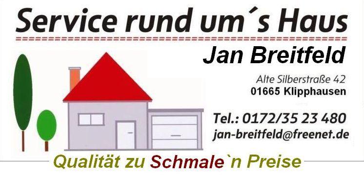 Sponsor des TKV Service rund um´s Haus Jan Breitfeld